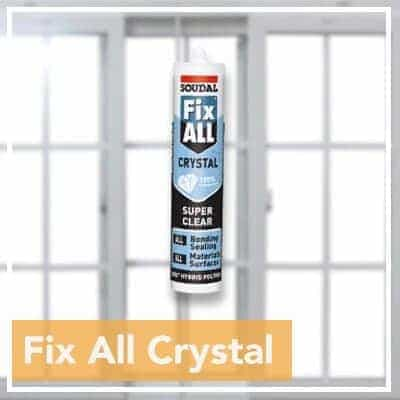 Fix All Crystal Soudal Niasa