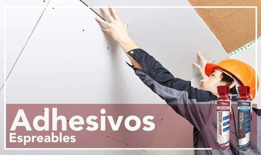 Adhesivos Espreables ADMASTER Niasa