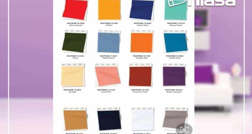 Colores primavera 2020