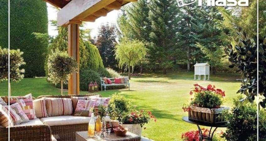 Un jardín para compartir grandes momentos