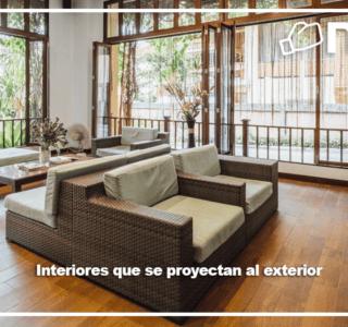 Interiores que se proyectan a los exteriores blog Niasa