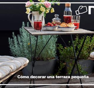 Cómo decorar una terraza pequeña-blog niasa